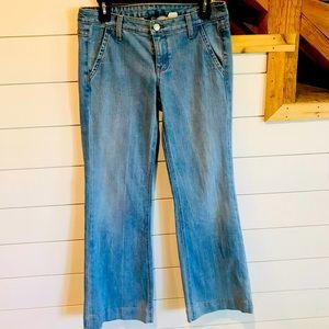 J. Crew City Fit Flared leg jeans size 4